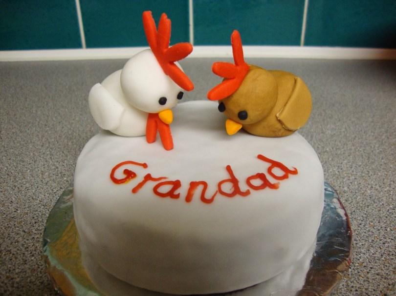 Chicken Birthday Cake Gemmas Cakes And Bakes Chicken Birthday Cake