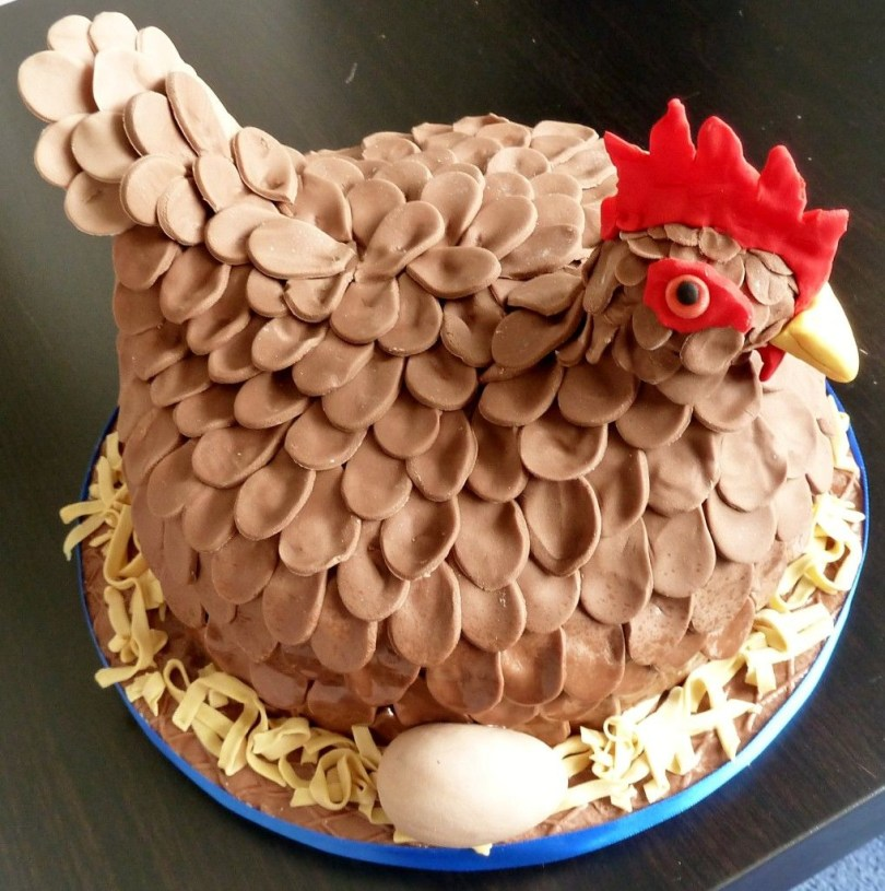 Chicken Birthday Cake Its A Cake For A Hen Do Geddit Cluck Cluck Cluck Henny Penny