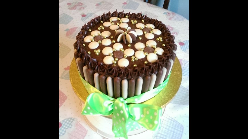 Chocolate Birthday Cake Recipe Easy Chocolate Birthday Cake Recipe Youtube