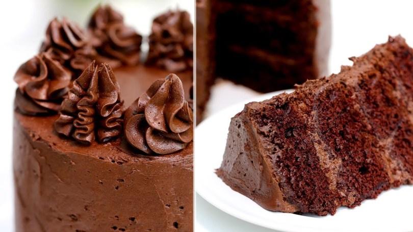 Chocolate Birthday Cake Recipe How To Make The Perfect Chocolate Cake Chocolate Cake Recipe