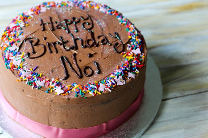 Chocolate Birthday Cake Recipe The Spoon And Whisk Milk Chocolate Birthday Cake