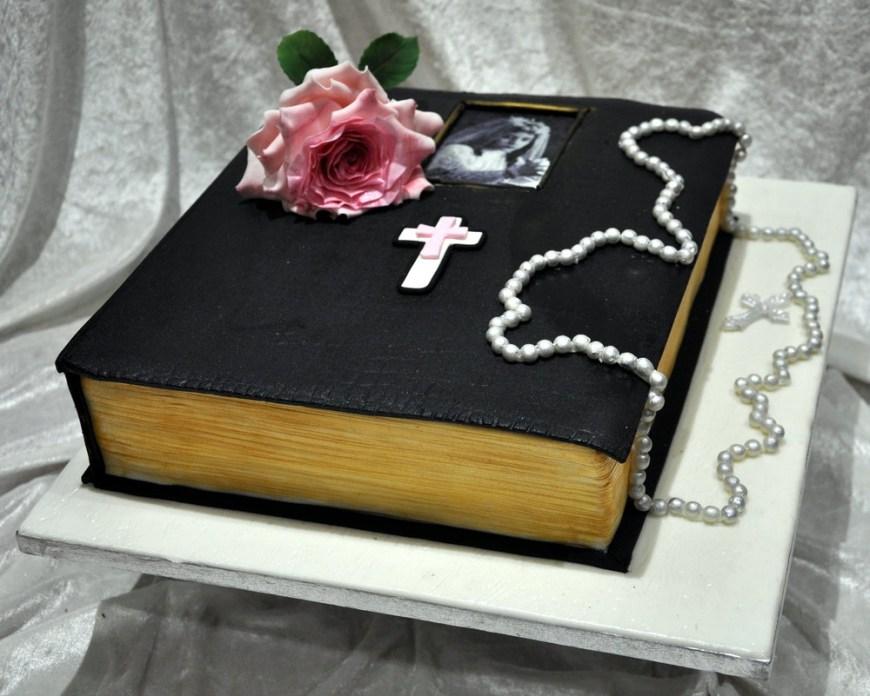 Christian Birthday Cakes Bible Birthday Cake Cakeadelic