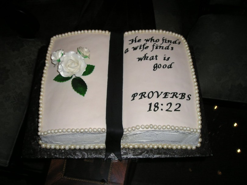 Christian Birthday Cakes Dee Licious Cakes Bible Grooms Cake