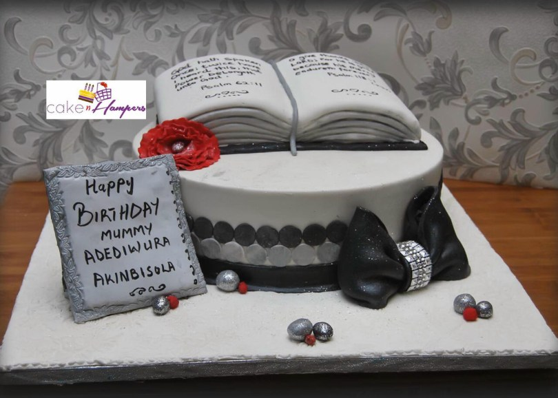Christian Birthday Cakes Fruit And Coconut Custom Bible Cake Cake Orderdelivery Service
