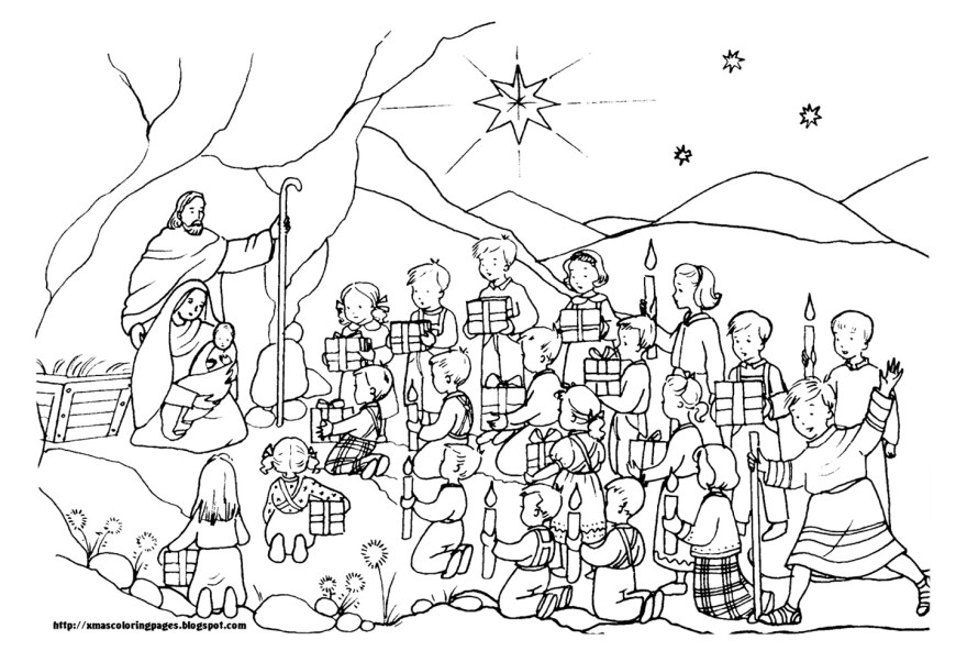 Christian Coloring Pages Free Christian Coloring Pages For Children And Adults Level 3