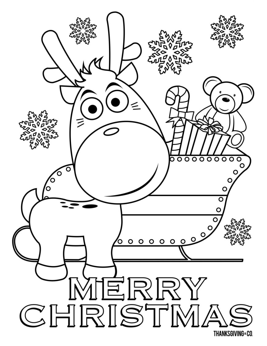 Christmas Coloring Pages 5 Christmas Coloring Pages Your Kids Will Love Thanksgiving