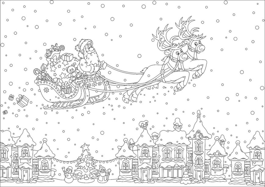 Christmas Coloring Pages Christmas Coloring Pages 16 Printable Coloring Pages For The
