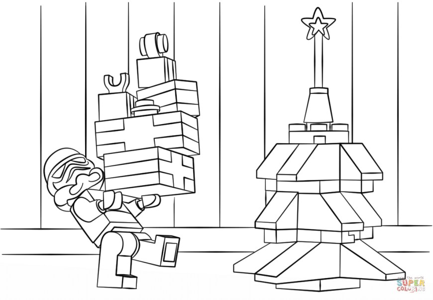 Christmas Coloring Pages Lego Star Wars Clone Christmas Coloring Page Free Printable