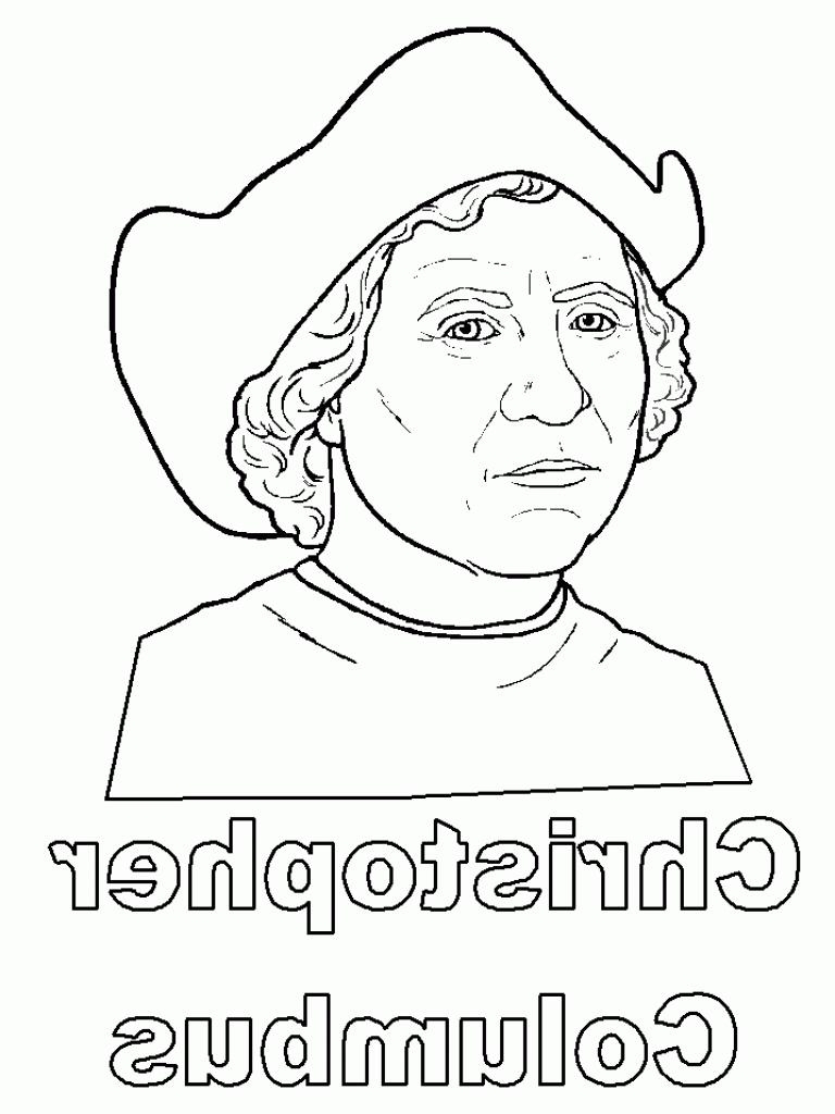 Christopher Columbus Coloring Page Christopher Columbus Coloring Page Ra3m Christopher Columbus