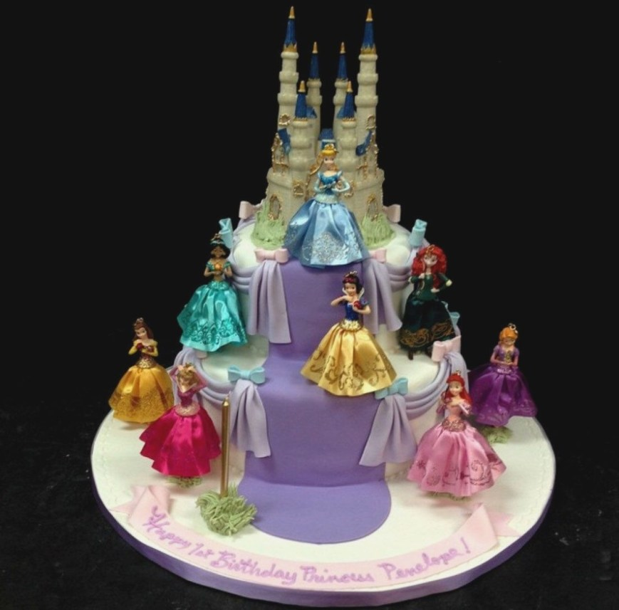 Cinderella Birthday Cake Cinderella Birthday Cake Toppers Colorfulbirthdaycakegq