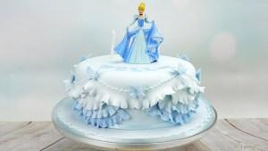 Cinderella Birthday Cake Cinderella Princess Birthday Cake Youtube