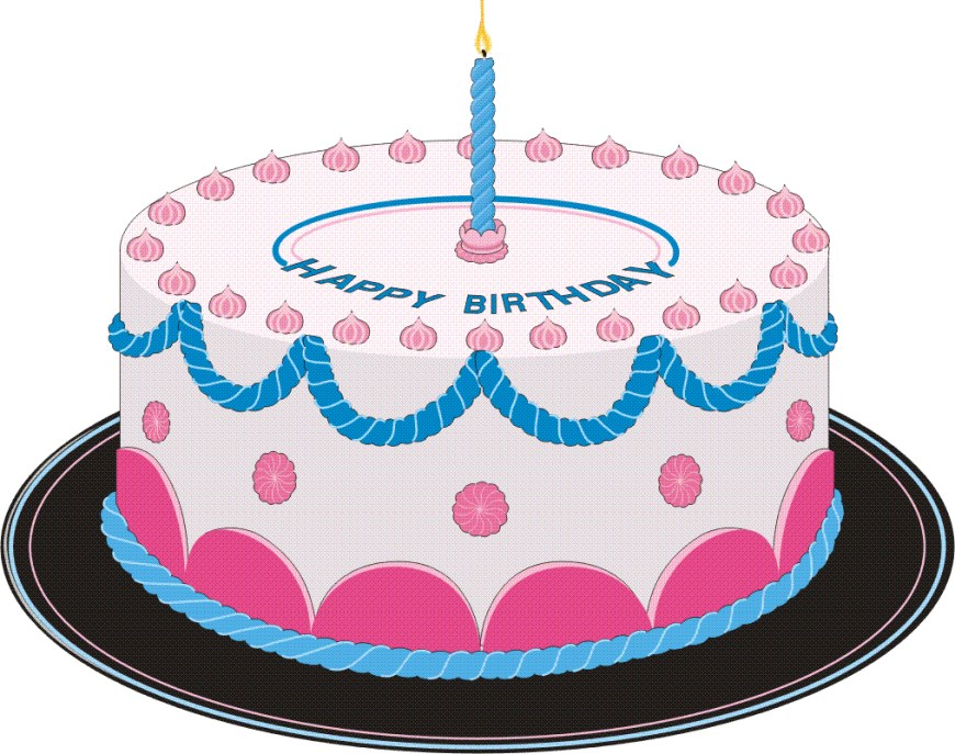 Clip Art Birthday Cake Free Birthday Cakes Images With Candles Download Free Clip Art