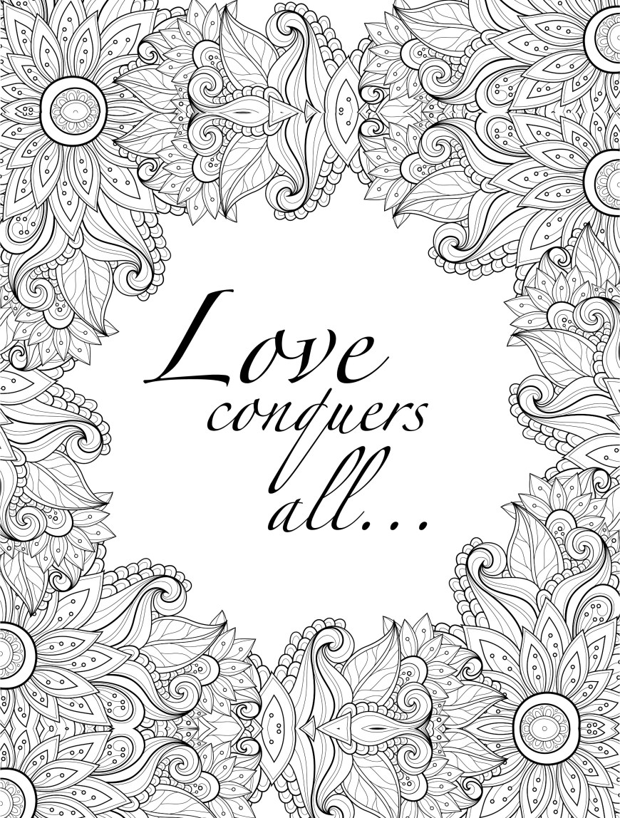 Coloring Pages For Adults Printable 20 Free Printable Valentines Adult Coloring Pages Nerdy Mamma