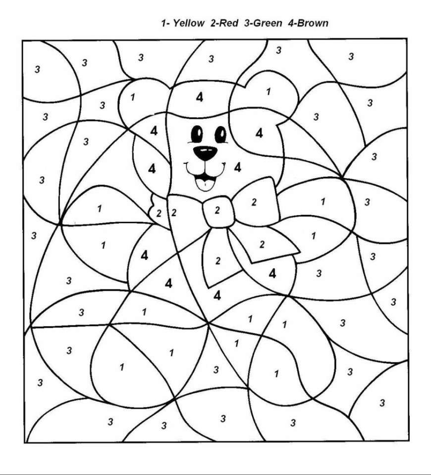 Coloring Pages For Preschoolers Preschool Colouring Pages Adult Color Number Coloring 9281024