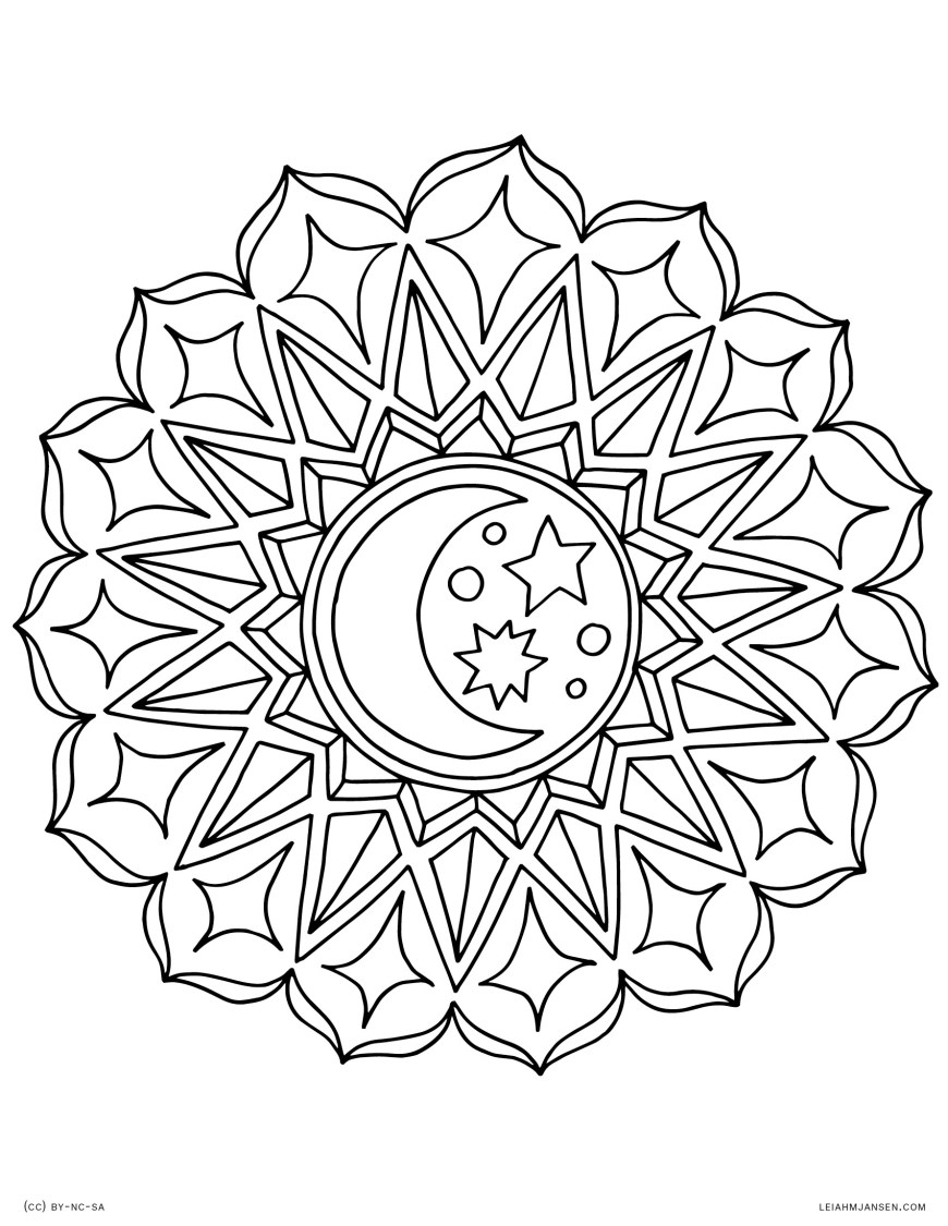 Coloring Pages Mandala Coloring Pages
