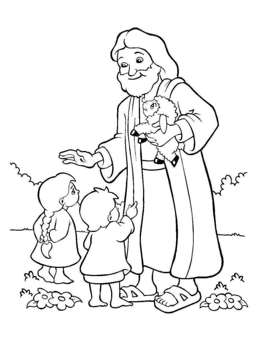 Coloring Pages Of Jesus Coloring Pages Coloring Pages Jesus Withen Page And Redgrillo