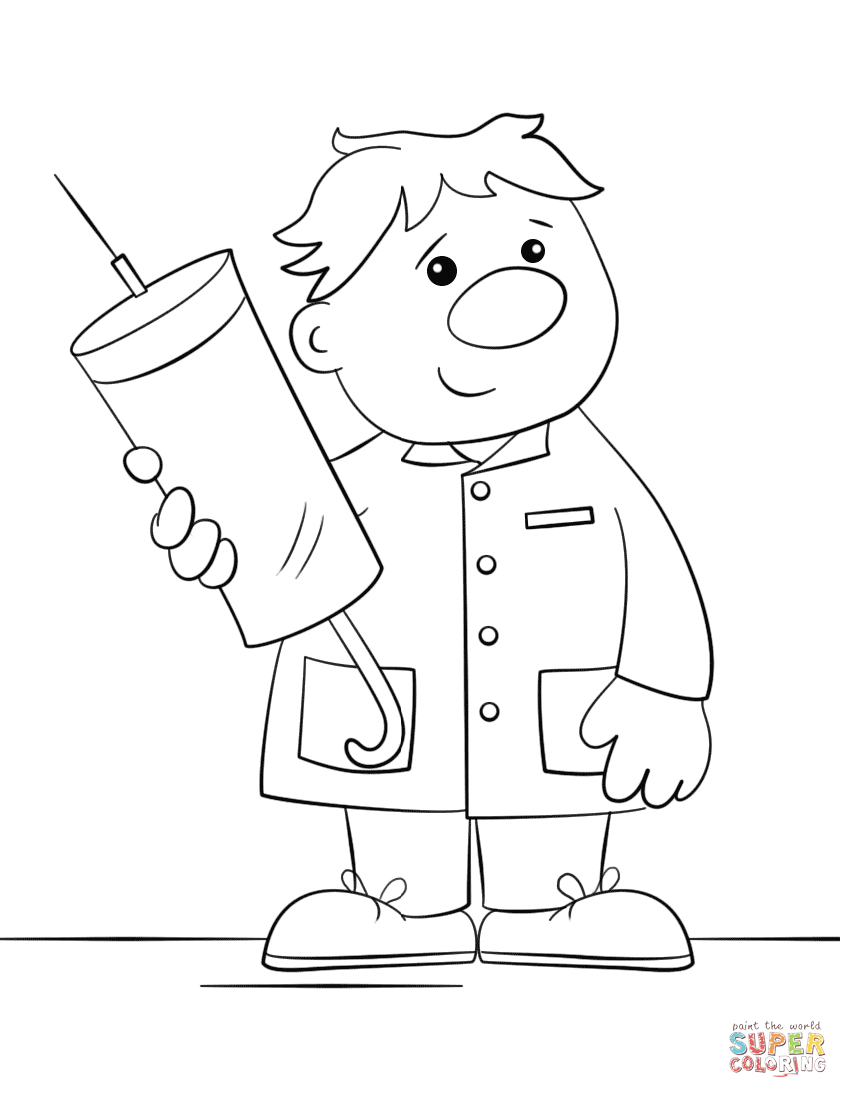 Community Helpers Coloring Pages Community Helpers Coloring Page Free Printable Pages For Bitslice
