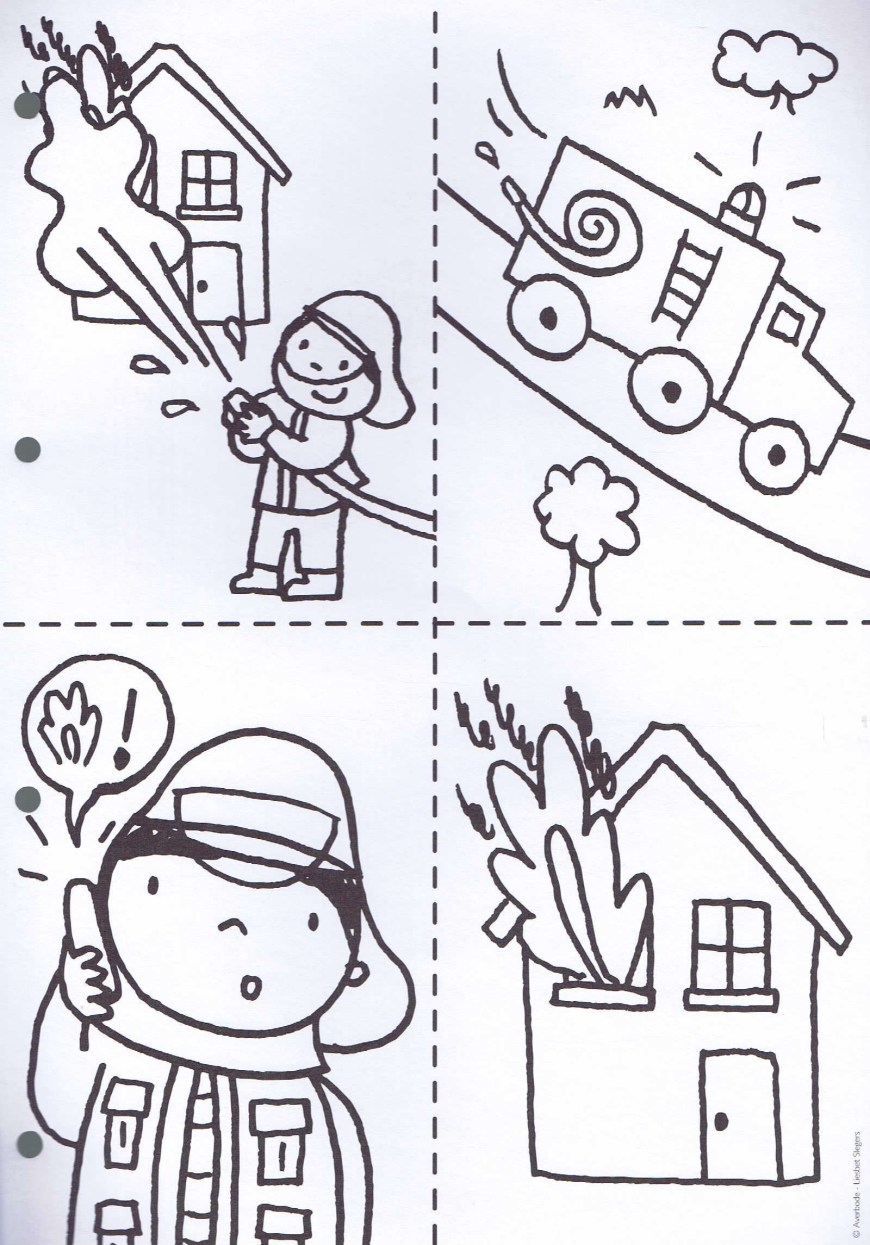 Community Helpers Coloring Pages Community Helpers Coloring Pages For Kindergarten Beautiful Pin