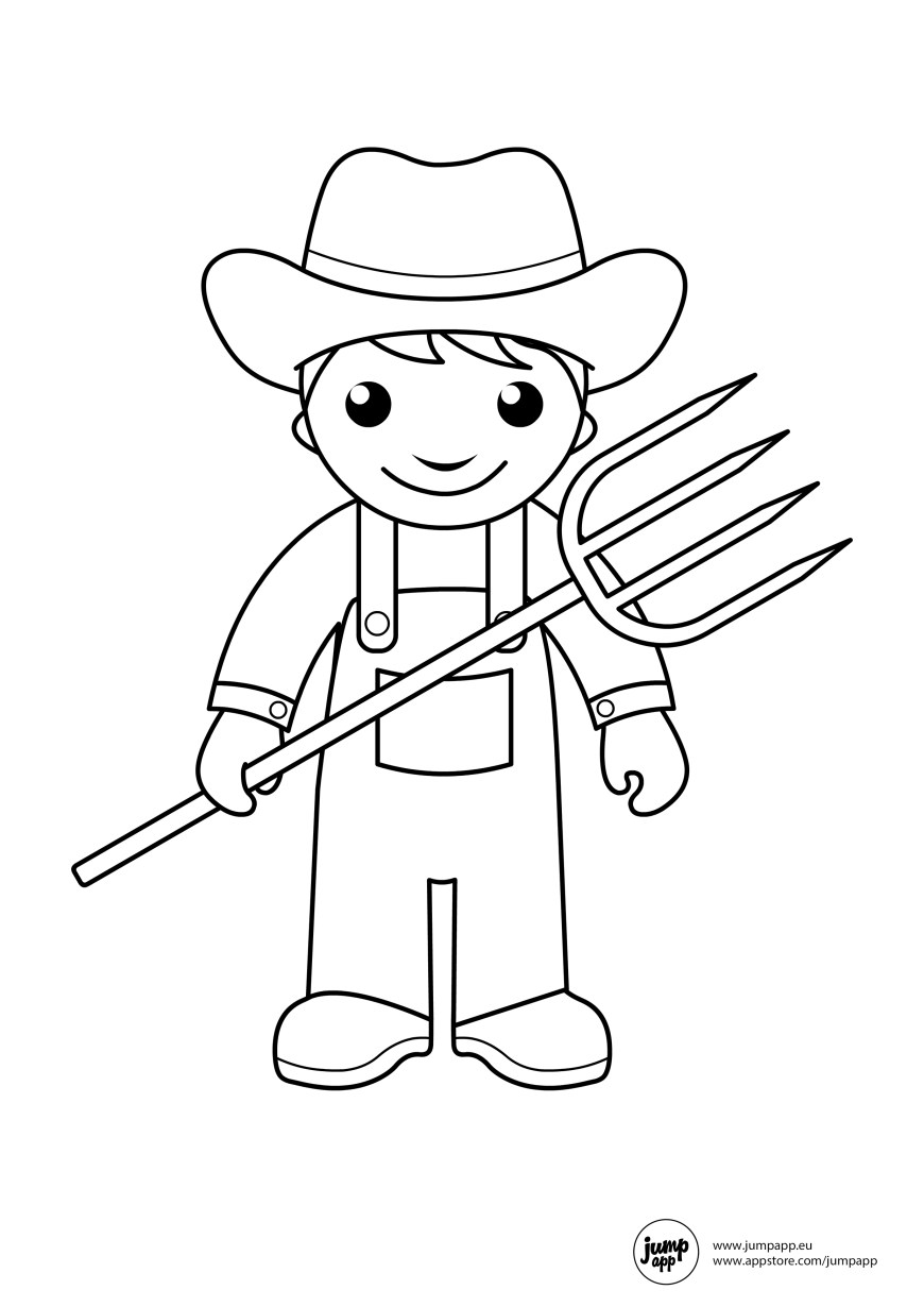 Community Helpers Coloring Pages Community Helpers Coloring Pages For Toddlers Color Bros
