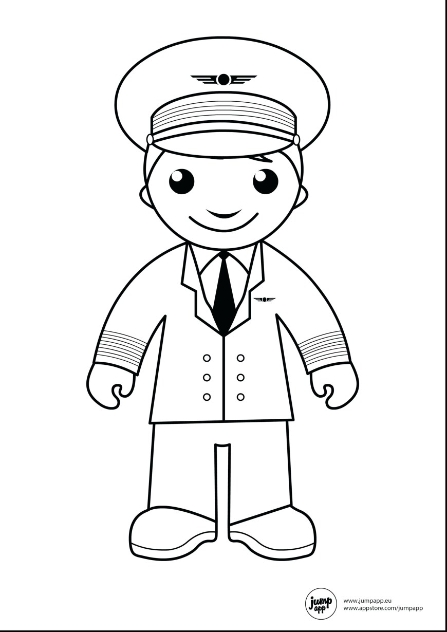 Community Helpers Coloring Pages New Community Helper Coloring Pages Colin Bookman