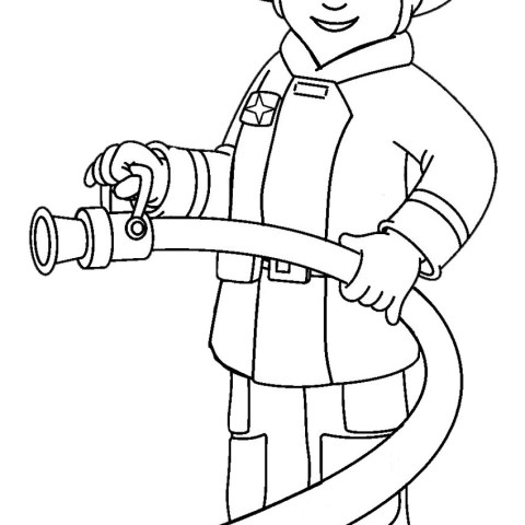Community Helpers Coloring Pages Printable Community Helper Coloring Pages Coloringme