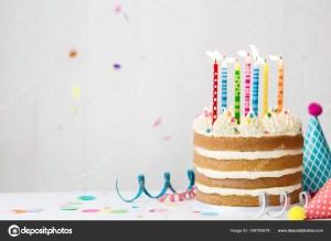 Confetti Birthday Cake Birthday Cake With Confetti Stock Photo Ruthblack 169793678