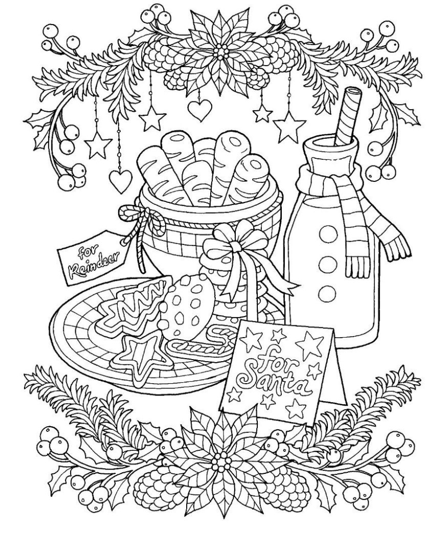 Cookie Coloring Pages Christmas Cookie Coloring Page Profitclinic
