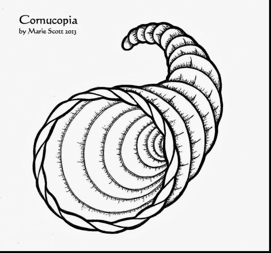 Cornucopia Coloring Pages Amazing Design Cornucopia Coloring Pages To Print Liberal Page New