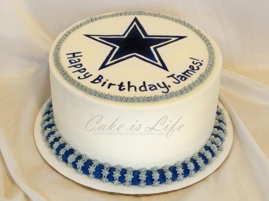 Cowboys Birthday Cake Cowboys Birthday Cake 092011 A Simple Birthday Cake Wit Flickr