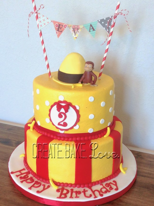 Curious George Birthday Cake 12 Curious George First Birthday Cakes For Birthdays Photo Curious