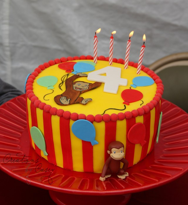 Curious George Birthday Cake Curious George Birthday Cake Believe It Or Not We Never U Flickr