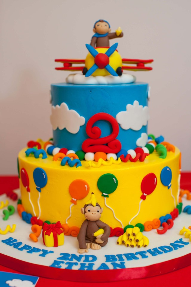 Curious George Birthday Cake Curious George Birthday Cake Boy Birthday Bashes Pinterest