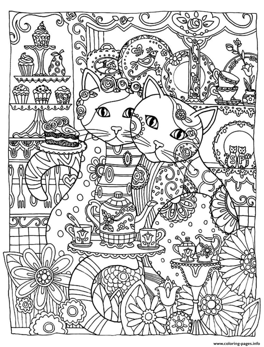 Cute Cat Coloring Pages Cute Kitty Coloring Pages Riodejaneiroorganicgrowers