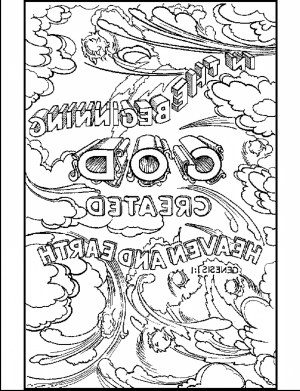 Days Of Creation Coloring Pages Free Printable Bible Coloring Pages 5f9r 7 Days Of Creation Coloring