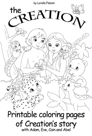 Days Of Creation Coloring Pages Sunday School Creation Picture Wheel Coloring Pages Bible On Days Of