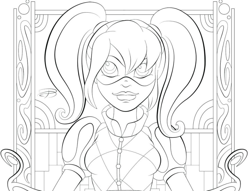 Dc Superhero Girls Coloring Pages Dc Superhero Girls Coloring Pages Download 4 I Pictures To Print