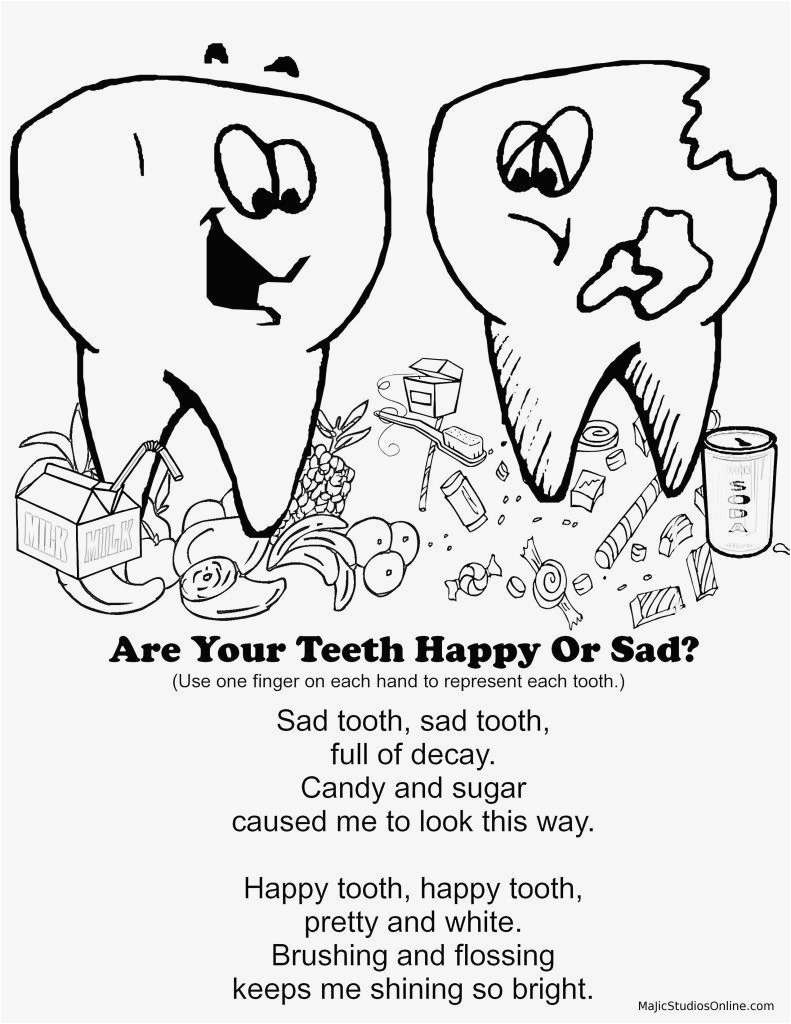 Dental Coloring Pages Coloring Teeth New Photos Dentist Coloring Pages Awesome Dental