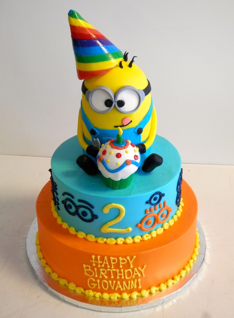 Despicable Me Birthday Cake 2 Year Old Birthday Cake Despicableme Minions Boys Birthday