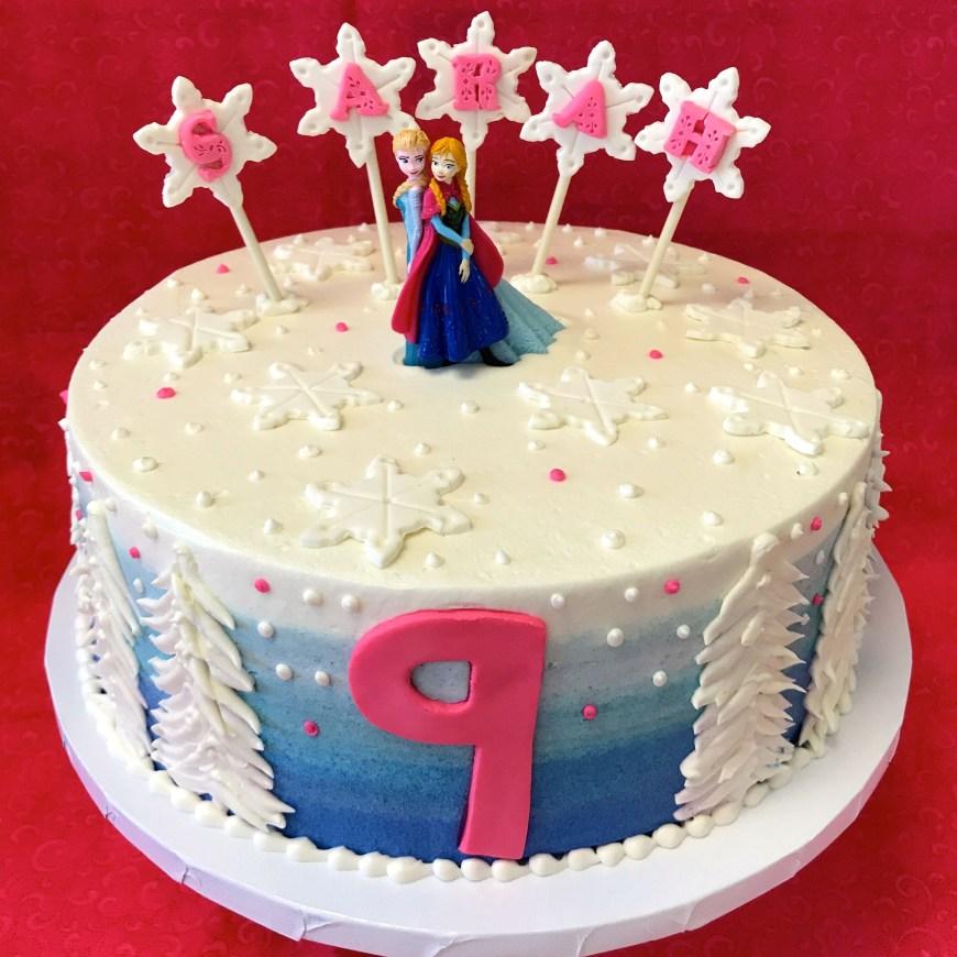Disney Birthday Cake Disney Frozen Birthday Cake As Shown