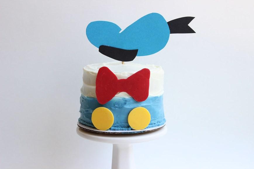 Disney Birthday Cake Donald Duck Birthday Cake Disney Family