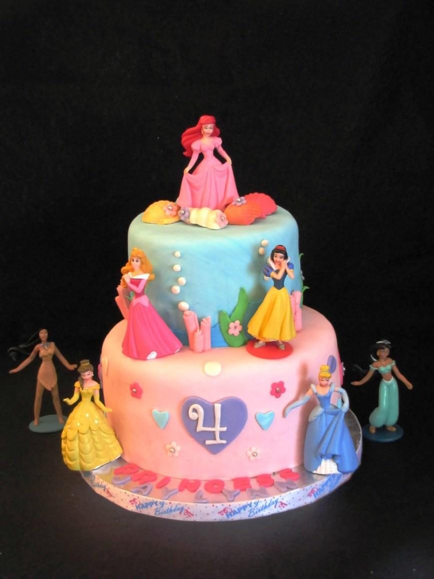 Disney Birthday Cake Walt Disney Princess Birthday Cakes Protoblogr Design Disney