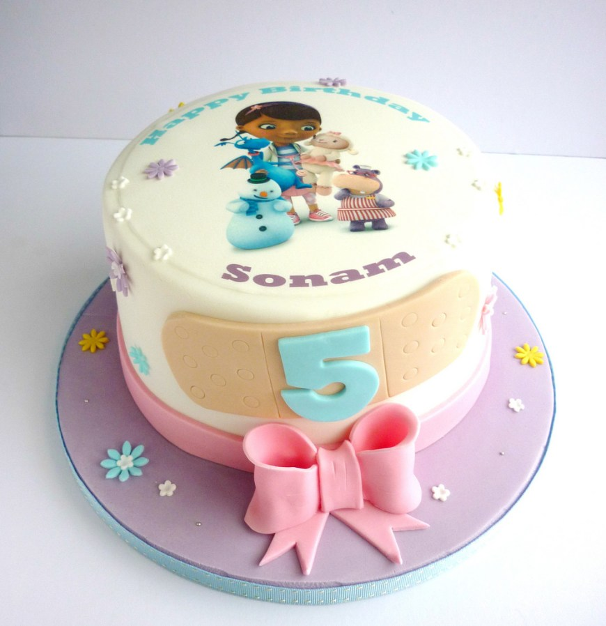 Doc Mcstuffin Birthday Cakes Doc Mcstuffins Birthday Cake Swirlsbakery Flickr