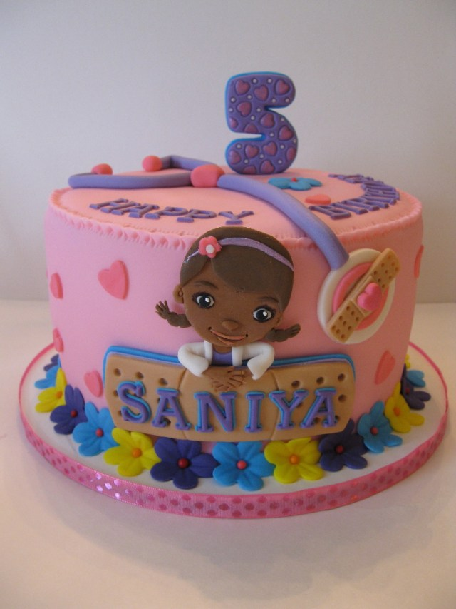 Doc Mcstuffin Birthday Cakes Saniyas Doc Mcstuffins Birthday