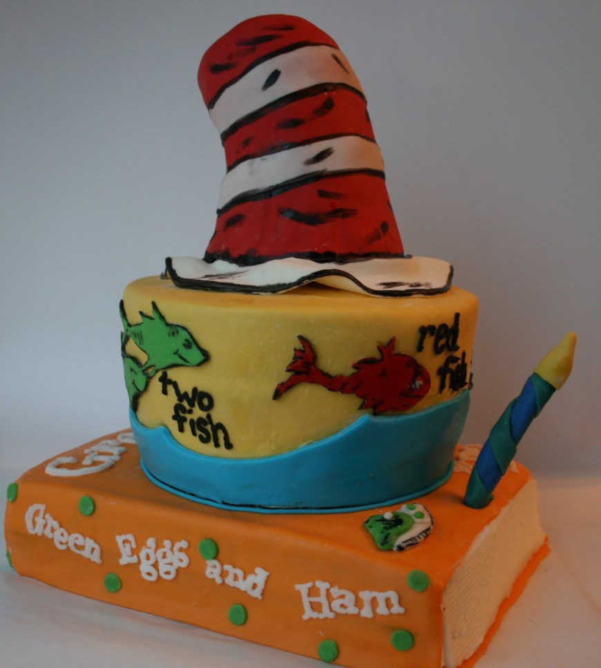 Dr Seuss Birthday Cake And Everything Sweet Dr Seuss