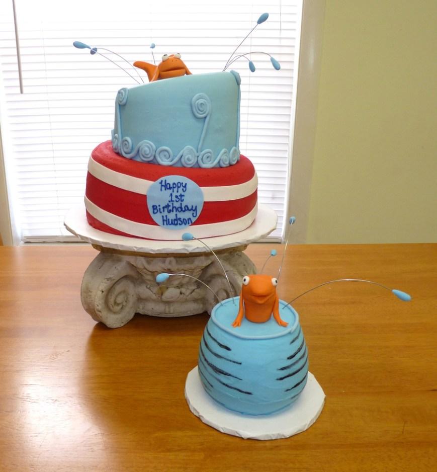 Dr Seuss Birthday Cake Dr Seuss 1st Birthday Cake Cakecentral
