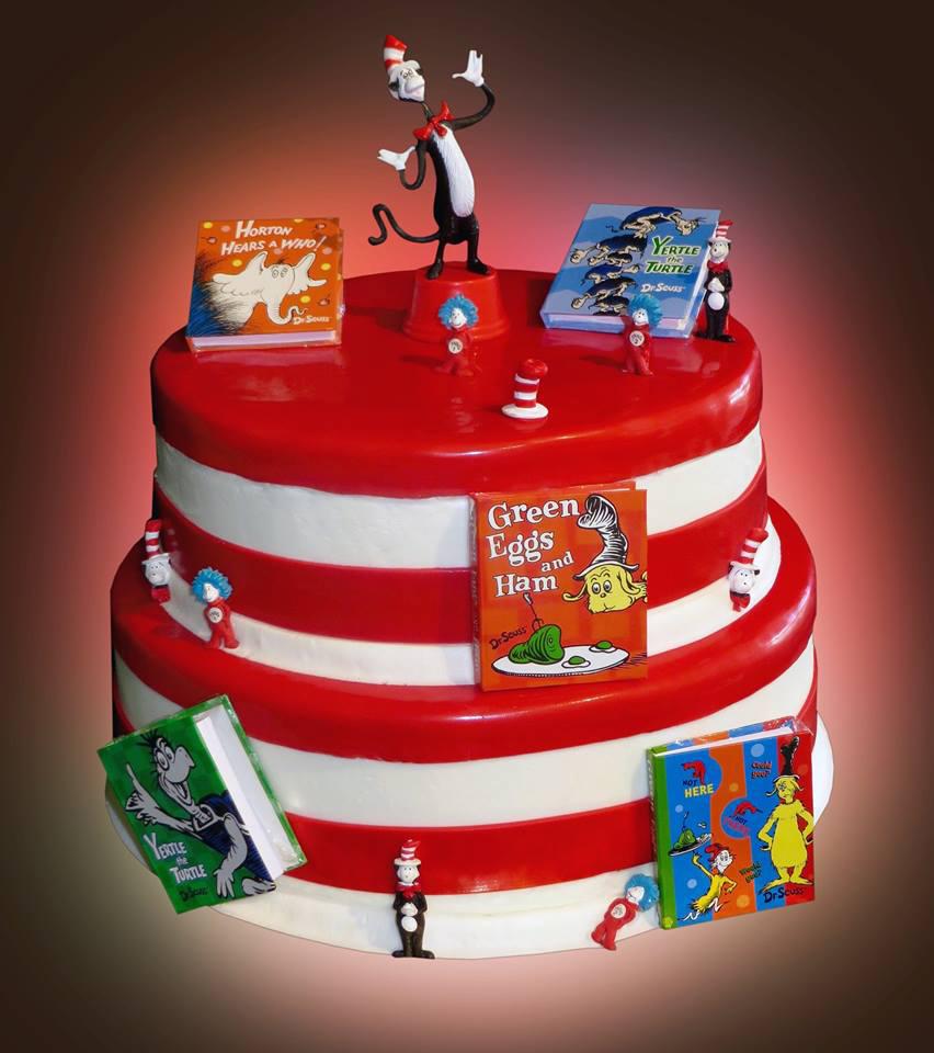 Dr Seuss Birthday Cake Dr Seuss Cake Sweet Somethings Desserts