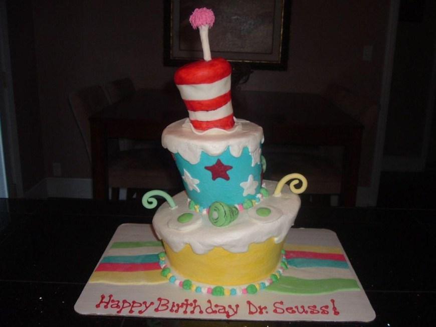 Dr Seuss Birthday Cake Easy Dr Seuss Birthday Cakes Ideas
