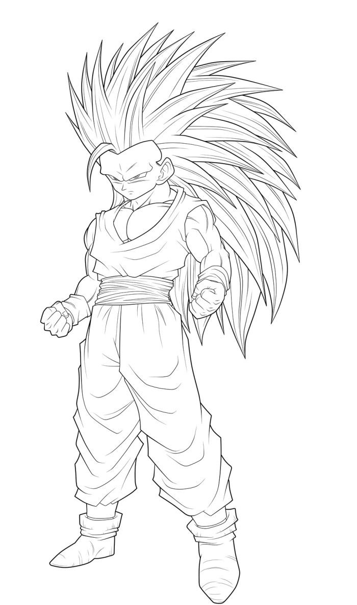 Dragon Ball Super Coloring Pages Coloring Pages Dragon Ball Goku Super Saiyan Coloring Pages Page