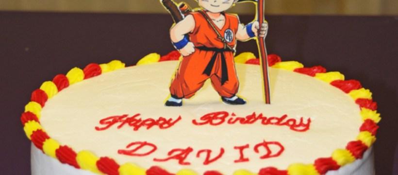 Dragon Ball Z Birthday Cake Dragon Ball Z Birthday Cake Cakecentral