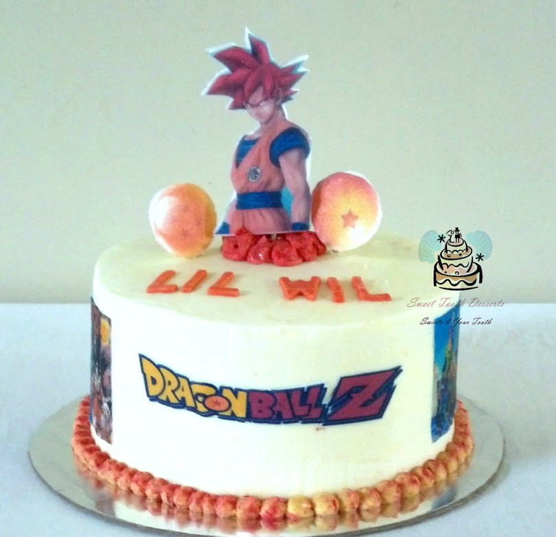 Dragon Ball Z Birthday Cake Dragon Ball Z Birthday Cake Simple 8in Dragon Ball Z Birth Flickr